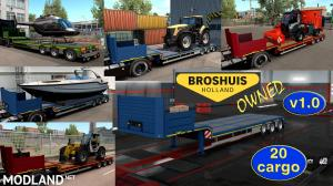 Ownable overweight trailer Broshuis v1.0