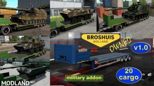 Military Addon for Ownable Trailer Broshuis v 1.0