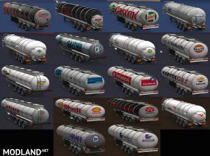 Tank trailers, real companies