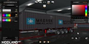 Container Trailer 4 axle 1.36, 1 photo