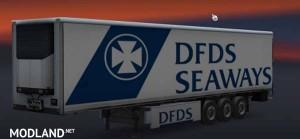 DFDS Seaways Trailer Skin