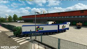 Double trailers in all companies across Europe v3.1, 1 photo