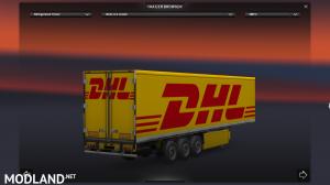 DHL trailer skin, 1 photo