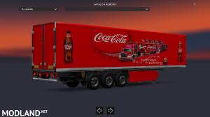 Christmas Coca Cola Trailer, 1 photo