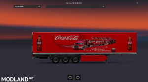 Christmas Coca Cola Trailer, 2 photo