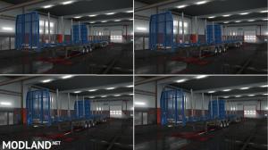 Logs Trailer B-Train [MP-SP] [Multiplayer] [TruckersMP], 2 photo
