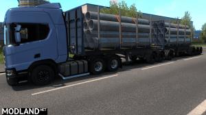 Logs Trailer B-Train [MP-SP] [Multiplayer] [TruckersMP], 1 photo