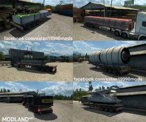 TMP - Flatbed trailer