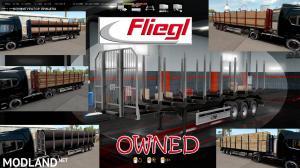 Ownable log trailer Fliegl v 1.0.2