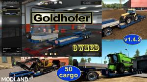 Ownable overweight trailer Goldhofer v 1.4.2, 1 photo