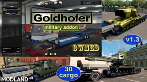 Military Addon for Ownable Trailer Goldhofer v 1.3, 1 photo