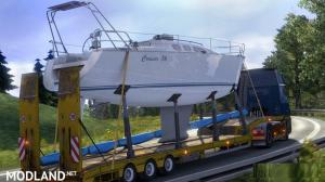 Animated SCS Default Overweight Trailer v 2.1, 1 photo