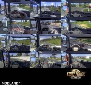 Real Interior Cams ETS2 v2.3.6, 1 photo
