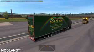 Krone Doubledeck Trailer in traffic 1.36 & up, 3 photo