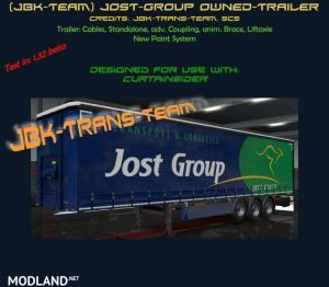 JBK JOST GROUP OWNED TRAILER v 1.0