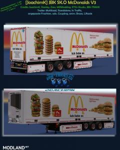 McDonalds Trailer V3 (1.28, 1.30)