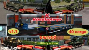 Military Addon for Ownable Trailer Kassbohrer LB4E v 1.1