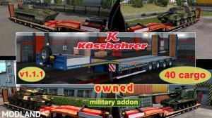 Military Addon for Ownable Trailer Kassbohrer LB4E v 1.1.1, 1 photo