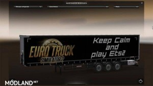 Keep Calm and Play ETS 2 Trailer