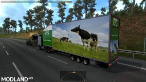 Krone Doubledeck Trailer in traffic 1.36 & up, 4 photo