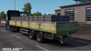 MAZ flatbed trailer in ownership 1.35.x, 1 photo