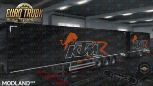 KTM Racing Ownership Trailer