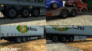 New trailer wheels