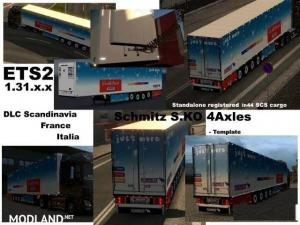 Schmitz Cargobull S.KO 4 axles Reefer v 1.3, 1 photo