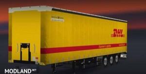 Schwarzmuller DHL Trailer