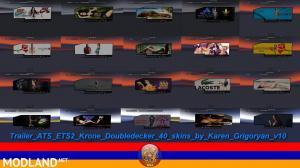 Trailer Krone Doubledecker 40 Skins, 2 photo