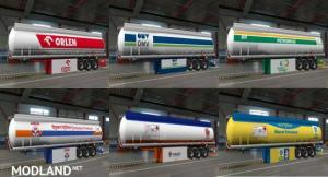 Trailer Skin Pack for Ownable Fuel Cisterns 1.38