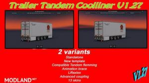 Trailer tandem coolliner 3 axles (1.27), 1 photo