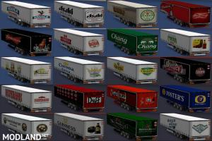 trailers of world beer brands, 1 photo