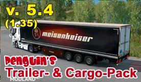 Penguins Trailer and CargoPack 5.4 1.35 , 1 photo