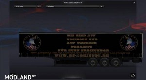 Werbe trailer GS- Logistic