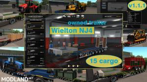 Ownable overweight trailer Wielton NJ4 v1.1.1, 1 photo