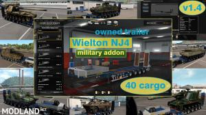 Military Addon for Ownable Trailer Wielton NJ4 v 1.4