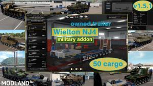 Military Addon for Ownable Trailer Wielton NJ4 v 1.5.1, 1 photo
