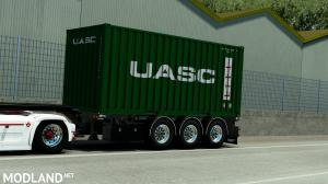 Container Trailer by Rhino3D, 2 photo