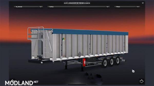 Trailer benalu standalone mod for ETS 2