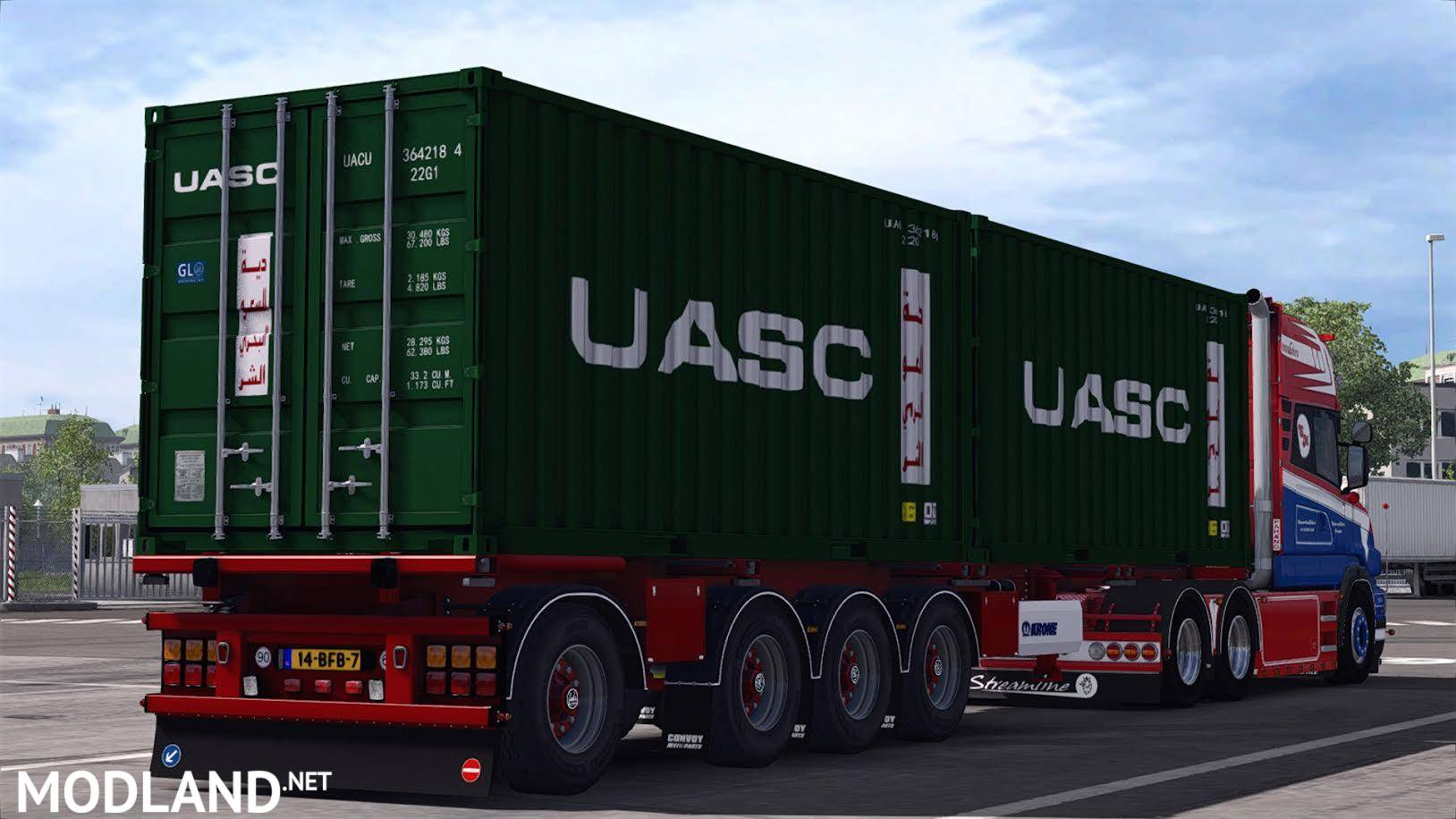 trailer krone container v1 0 mod for ets 2
