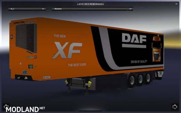 Trailer Lamberet DAF XF EURO 6 official mod for ETS 2