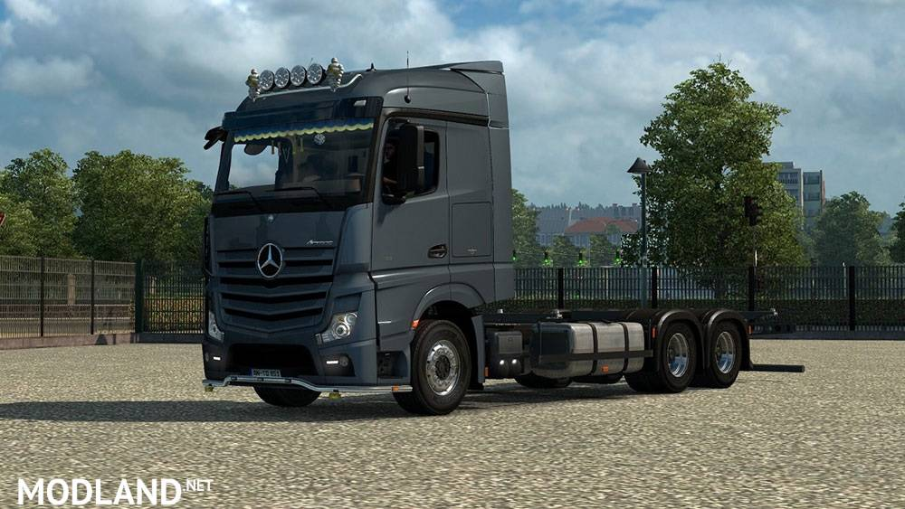 Mercedes Actros Mp4 Bdf Empty Chassi Mod For Ets 2