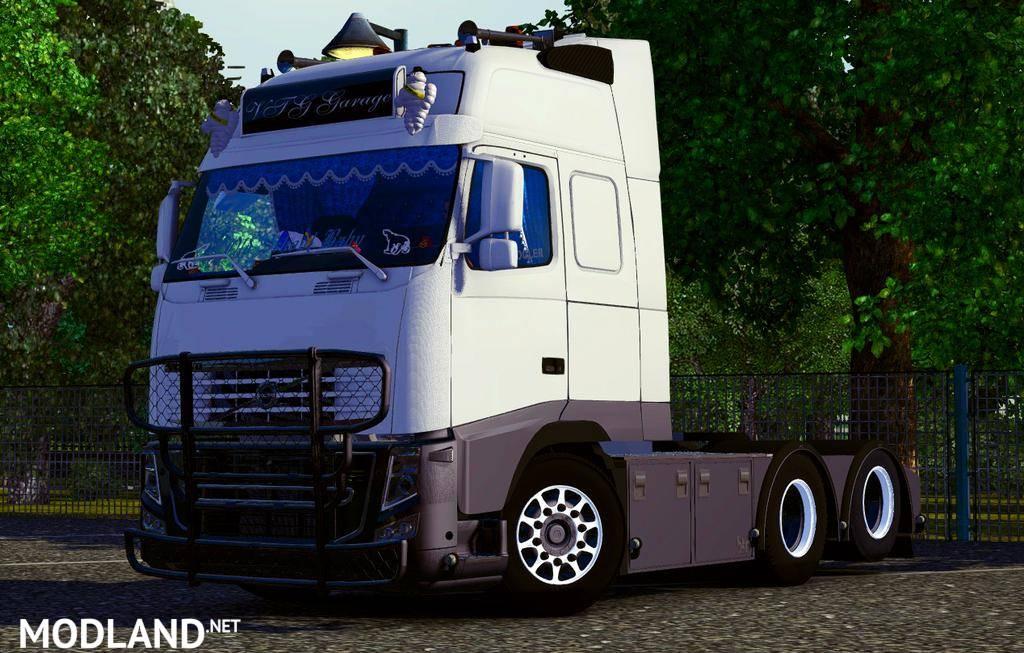 Volvo FH16 Garage mod for ETS 2