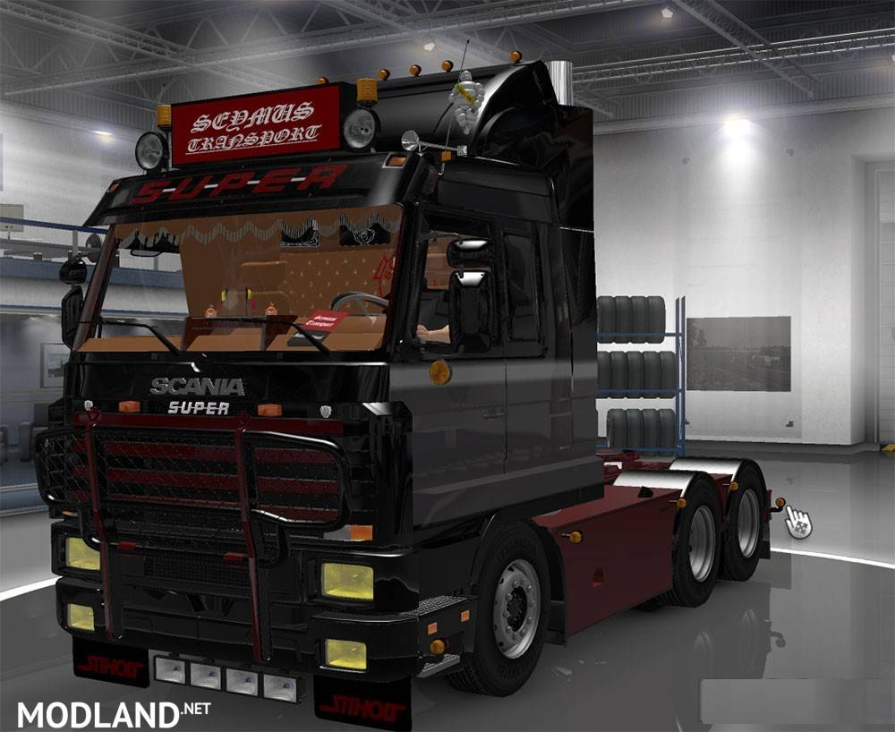Scania 143 Mod For Ets 2