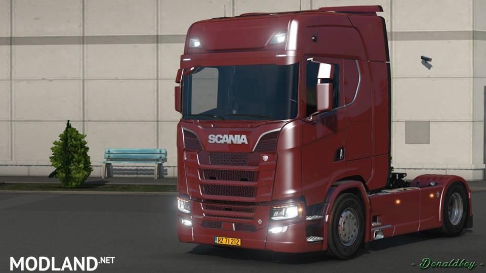 мод мерседес для Euro Truck Simulator 2 скачать - фото 7