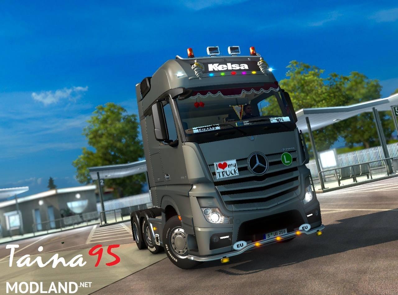 Mercedes Actros Mp4 V 1 4 Mod For Ets 2