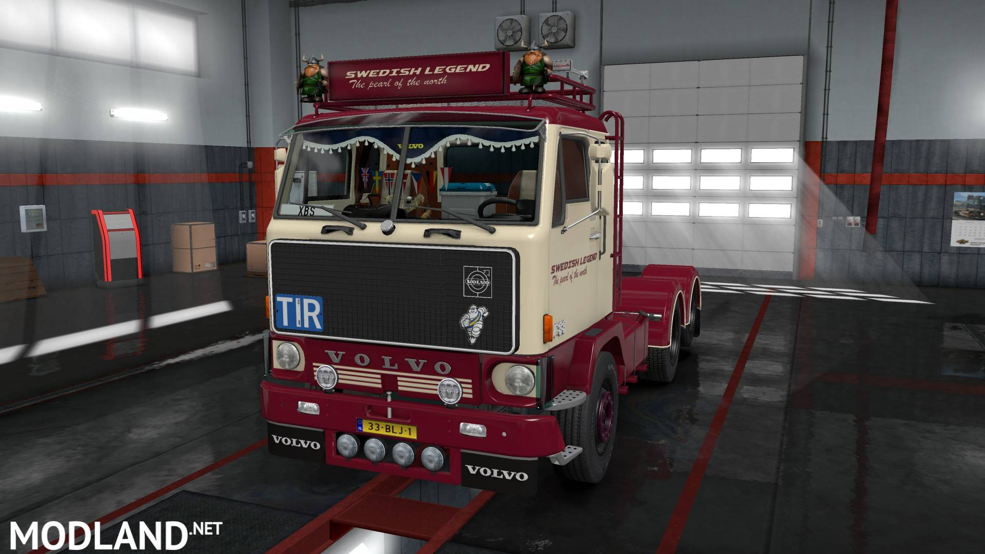Volvo F88 by XBS v 1.1 mod for ETS 2