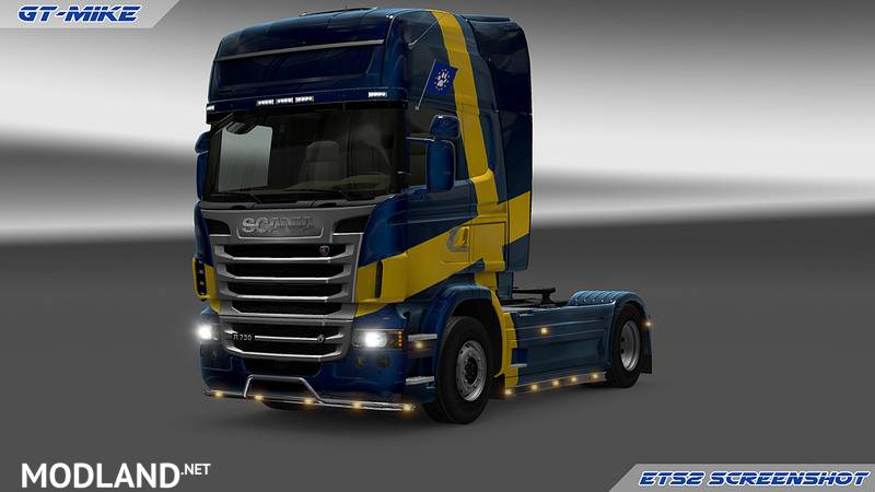 GT-Mods SCS Scania Reworked and Fixed v 2 0 mod for ETS 2