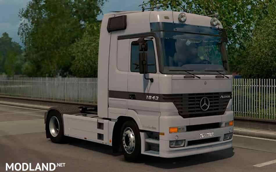 Mercedes-Benz Actros MP1 v 2.5 mod for ETS 2